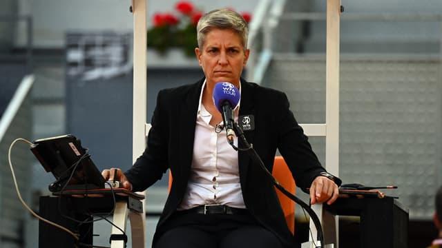 Marija Cicak va arbitrer la finale hommes de l'édition 2021 de Wimbledon.
