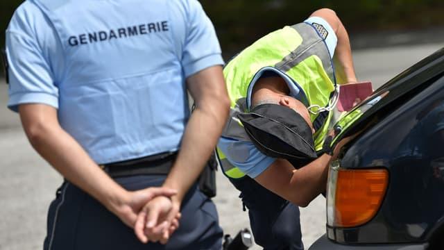 Le conducteur a été interpellé par des gendarmes du peloton d'autoroute de Valence. (Photo d'illustration)