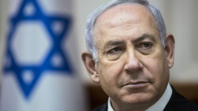Le Premier ministre israélien Benjamin Netanyahu, le 29 avril 2018 à Jérusalem