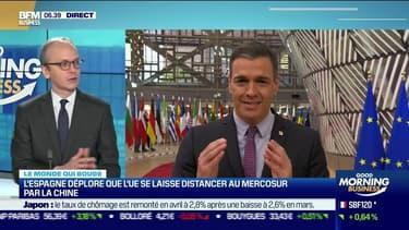 Benaouda Abdeddaïm : L'Espagne déplore que l'UE se laisse distancer au Mercosur par la Chine - 28/05