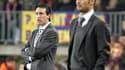 Unai Emery et Pep Guardiola