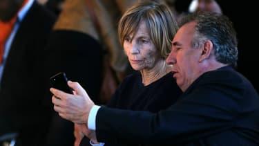 François Bayrou et Marielle de Sarnez.