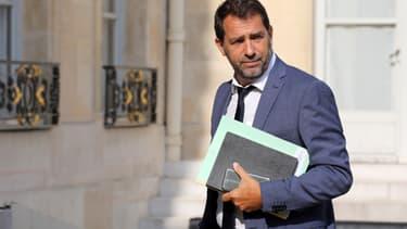 Le porte-parole du gouvernement, Christophe Castaner, le 28 août 2017.