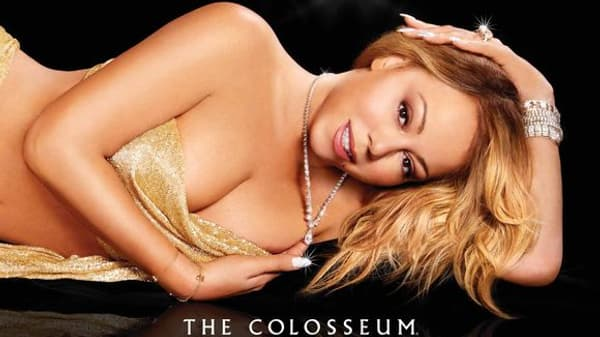 L'affiche polémique du retour de Mariah Carey à Las Vegas.