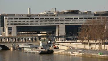 Le ministère des Finances à Paris.