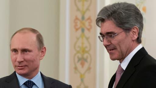 Le patron de Siemens a rencontré Vladimir Poutine le 26 mars