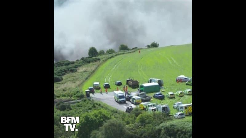 Un train déraille en Écosse, plusieurs passagers gravement blessés