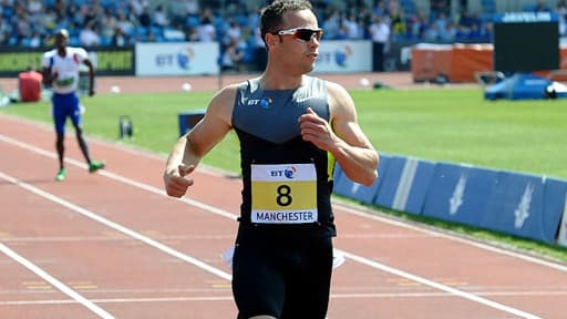 Oscar Pistorius était le premier athlète handicapé à courir avec des valides.