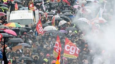 Manifestation à Nantes mercredi.