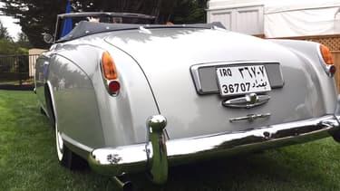 Cette Bentley S1 Continental Drophead Coupe de 1958 a appartenu à Saddam Hussein.