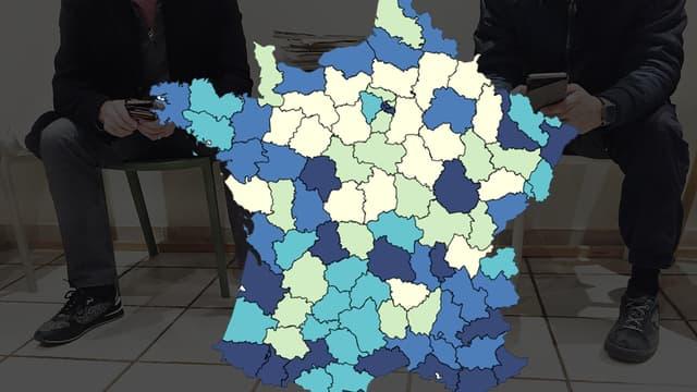La densité médicale varie beaucoup selon les régions
