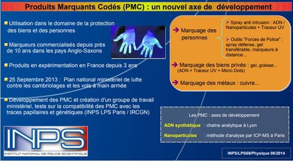 Capture d'écran du Pôle Judiciaire de la Gendarmerie Nationale