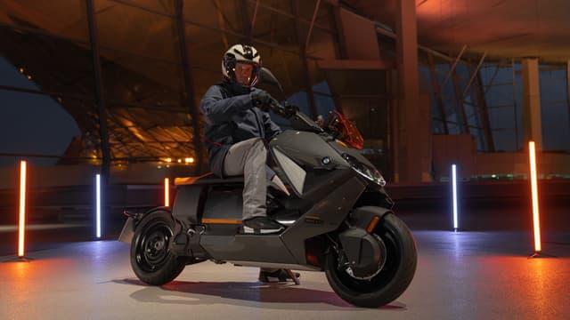 BMW Motorrad dévoile son nouveau scooter électrique