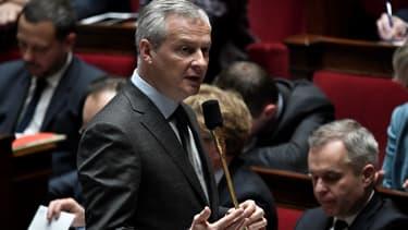 Le ministre de l'Economie, Bruno Le Maire, porte la loi Pacte.