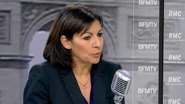 Anne Hidalgo, vendredi matin, invitée de BFMTV et RMC