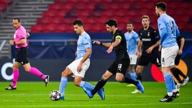 Le match Gladbach-Manchester City, à Budapest le 24 février 2021