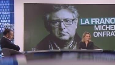 """Eric Zemmour et Eric Naulleau sur le plateau de """"Zemmour et Naulleau"""", mercredi."""