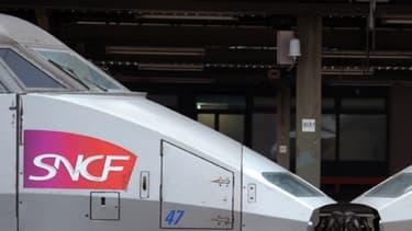 Le trafic des TGV entre Paris et la Bretagne est perturbé dans les deux sens après un accident mortel au niveau de Laval, en Mayenne. (Photo d'illustration)