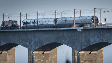 Accident de train sur le Great Belt Bridge au Danemark, le 2 janvier 2018