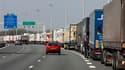 Le syndicat Sud appelle à une grève reconductible dans le transport routier à partir du 23 septembre contre la réforme des retraites. /Photo d'archives/REUTERS/Pascal Rossignol