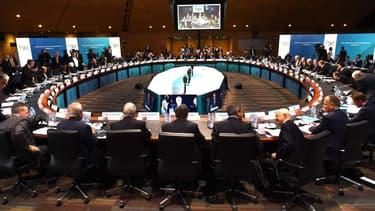 La préparation de la réunion des 20 ministres des Finances composant le G20, à Cairns, ce samedi 20 septembre.