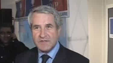 Le président du Conseil régional d'Alsace Philippe Richert