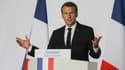 Emmanuel Macron le 21 juin 2018.
