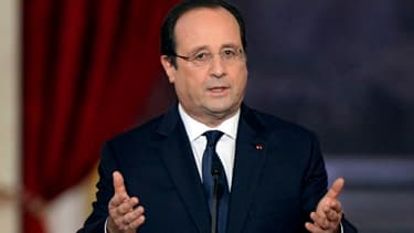 François Hollande a assumé son statut de social-démocrate, lors de ses voeux à la presse.
