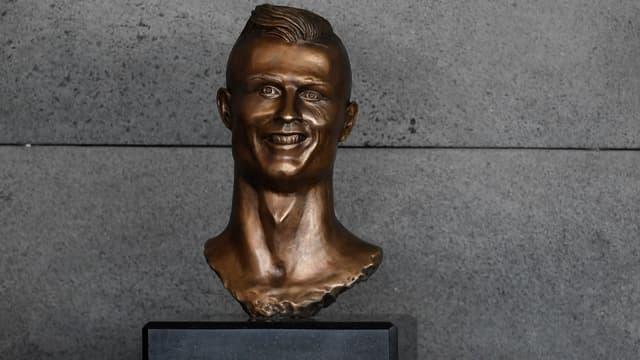 La statue de Cristiano Ronaldo