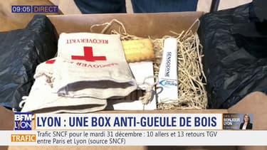 Une box anti-gueule de bois 100% lyonnaise pour se remettre des excès du réveillon du Nouvel An