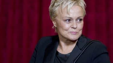 Muriel Robin à Paris le 21 novembre 2013
