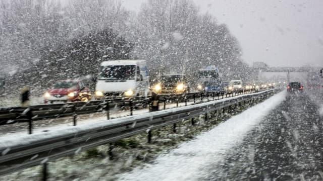 """Plusieurs départements du Sud sont concernés par cette vigilance orange """"neige-verglas"""""""