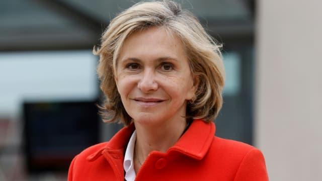 La présidente de la région Ile-de-France Valérie Pécresse à Juvisy-sur-Orge (Essonne) le 29 avril 2021