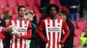Mohamed Ihattaren et Pablo Rosario avec le PSV