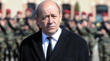 Jean-Yves Le Drian en mars 2013.