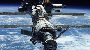 La Chine veut lancer sa propre grande station spatiale d'ici à 2020. Elle serait la seule dans l'espace après le retrait de l'ISS (photo).