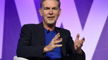 Reed Hastings, le patron de Netflix, s'exprimait à Barcelone (Espagne) dans le cadre du Congrès mondial des télécoms (MWC)
