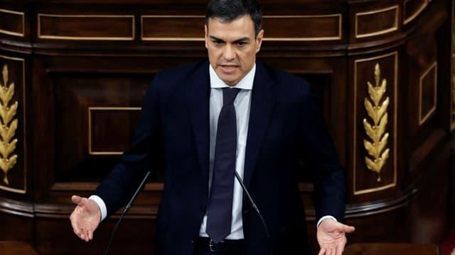 Pedro Sanchez, président du gouvernement espagnol -