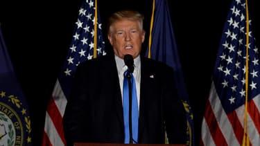 Le candidat républicain à la Maison Blanche Donald Trump est crédité de 41% des intentions de votes des Américains.