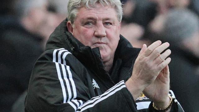 Steve Bruce, l'entraîneur de Hull City