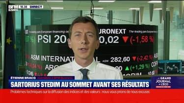 Sartorius Stedim au sommet avant ses résultats - 16/07