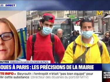 """Masques à Paris: """"Les bords de Seine, du canal Saint-Martin, les abords des gares et les marchés découverts"""" concernés"""