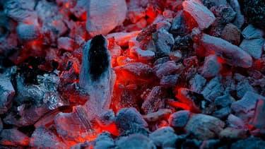 Du charbon