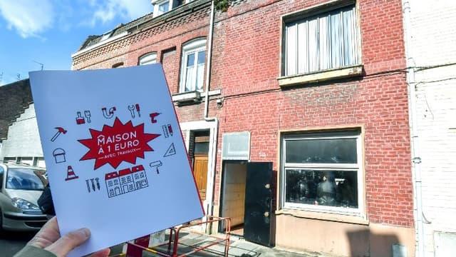 Une maison à un euro à Roubaix