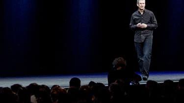 Le patron d'Apple préfère d'habitude rester discret sur les questions de vie privée.