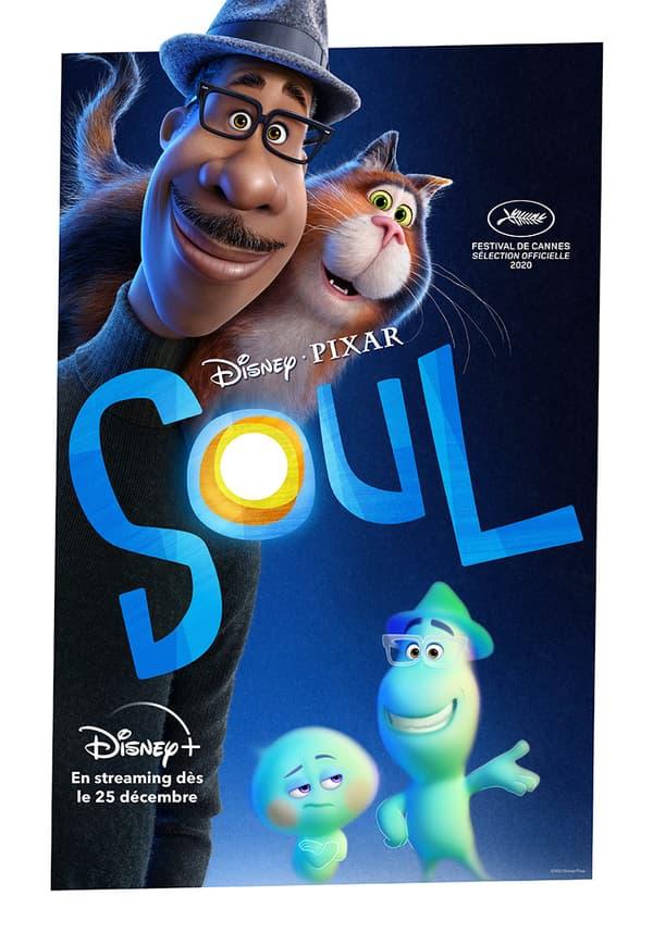 """Nouvelle Affiche de """"Soul"""", le nouveau Pixar"""