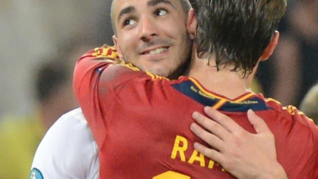 Karim Benzema et Sergio Ramos