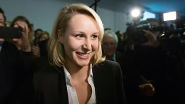 Marion Maréchal-Le Pen le 22 mars 2015 à Carpentras.