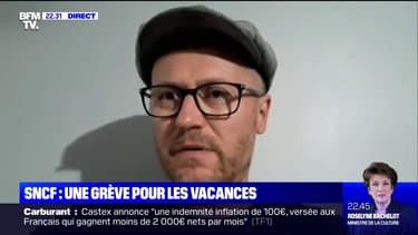 """Selon Fabien Villedieu (Sud Rail), la grève à la SNCF aura lieu """"tous les week-ends jusqu'au mois de janvier"""""""