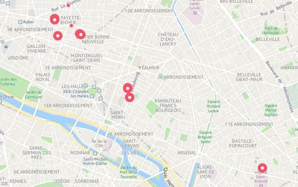 Une vie parisienne.